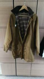 New Mens wax jacket 3xl