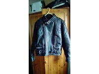 Vintage ladies motorbike jacket and trousers