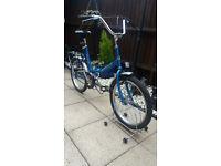 emmelle shuttle folding shopper bike