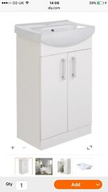 Ardenno sink/cabinet and vanity mirror for sale