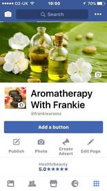 Aroma therapy and basic massage