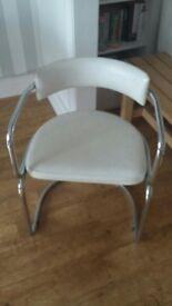 4x retro dining chairs