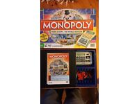 Monopoly: The World Edition with Card Reader