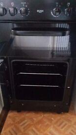 Bush electric oven black