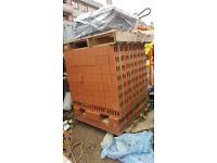 400 engineering bricks, sand and cement