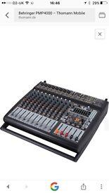 Beringer mixer amp