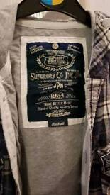 Superdry thick shirt