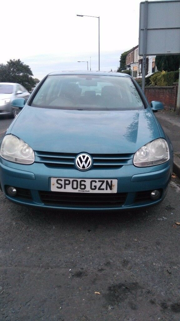Vw golf gt tdi ,140bhp, 2006,125k £1900