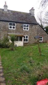2 bed semi detached cottage