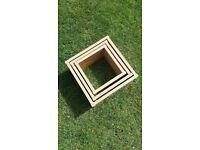 3 square shelfs for sale