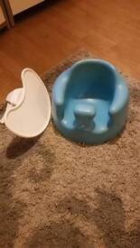 Bumbo Floor Seat & Play in Blue