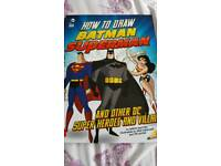 How to draw super heroes book