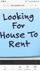 Looking for 2-3 bedroom house Penicuik-£600-£650 per month