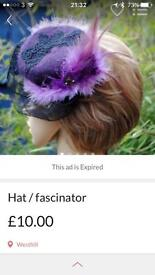 Hat / fascinator