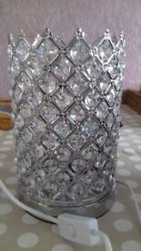 Crystal style tabel lamp