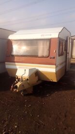 Sprite small 4 berth in need of renovation ideal for shed, site office camper conversion etc