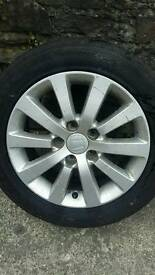 4 Honda 5 stud alloys