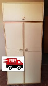 Double wardrobe (delivered free)
