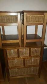 Chest of Draws and side tables
