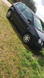 52 plate Volkswagen polo 1.2