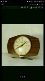 Vintage metamec electric clock