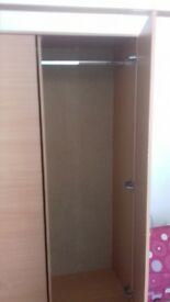 have 2 brand new single wardrobes