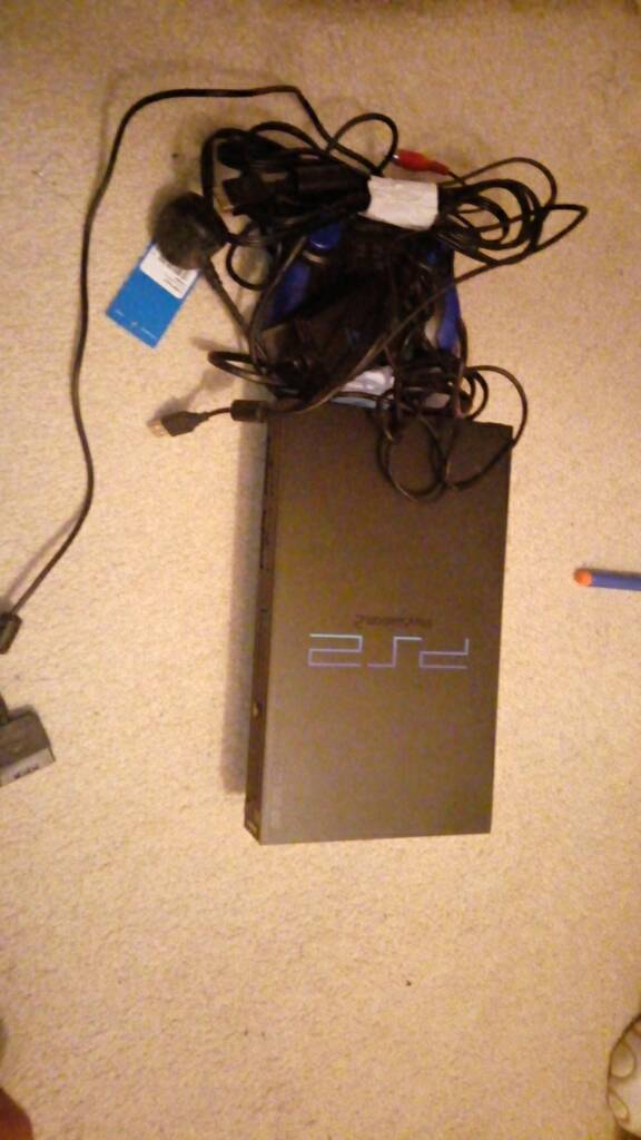 Ps2 with pad and camera fully working