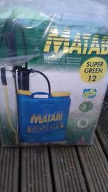 matabi knapsack weedkiller sprayer