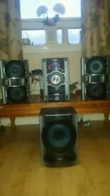 Sony MHC-GT444 Hi Fi system 780w