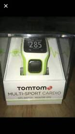 Tomtom multi-sport cardio watch New