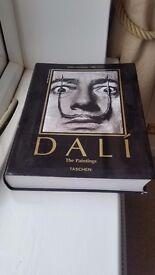 Salvador dali paperback book