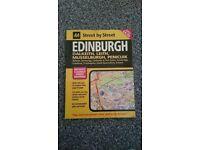 Selling Street by Street Edinburgh Map
