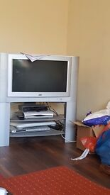 Jvc Tv with stand.