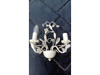 Wall lamp – French chateau style (four available) £8 each