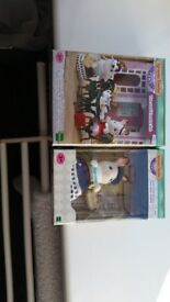 SYLVANIAN FAMILIES EXTENSIVE BUNDLE ALL NEW LOW PRICE NO TIME WASTERS