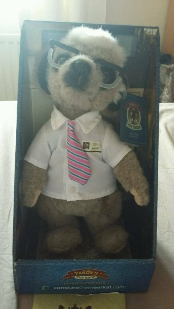 Meerkat Toy - Sergei