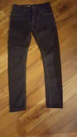 Next Boys Navy Skinny Jeans age 12
