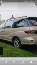 Toyota previa spares or repaira