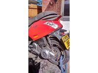 PIAGGIO ZIP 100cc FITTED WITH A TUNED 125cc (mild tune) 4STROKE ENGINE