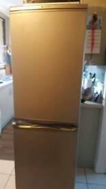 Hotpoint ice diamond fridge freezer half and half