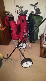 GOLF CLUBS FOR SALE. GENTS, LADIES & JUNIOR AVAILABLE. TOGETHER OR SEPERATE
