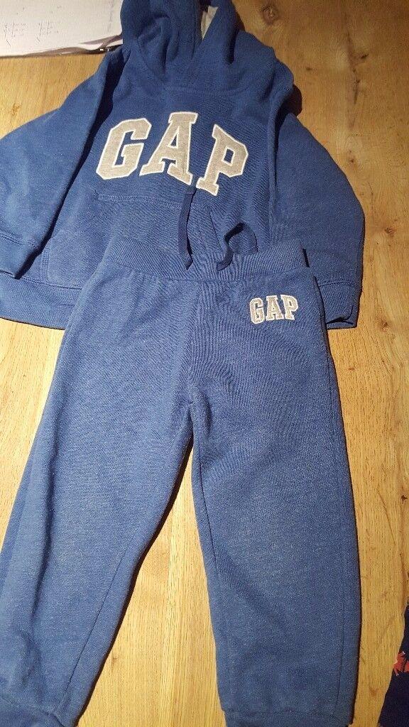 Boys Blue Gap Tracksuit