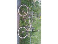 Bsd bmx bike few scratchs with stunt pegs