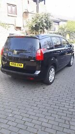 FOR SALE PEUGEOT 5008 BLACK 1.6 AUTOMATIC LOW MILEAGE LIKE NEW CAR