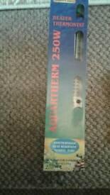 Aquarium 250 watt heater Brand new never been used