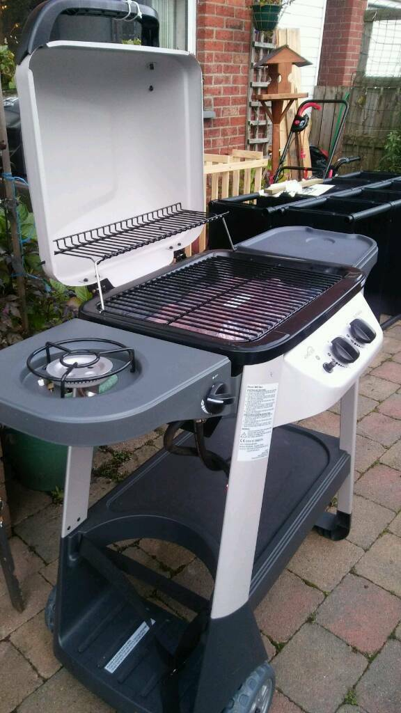 Outback 2 burner gas lava BBQ