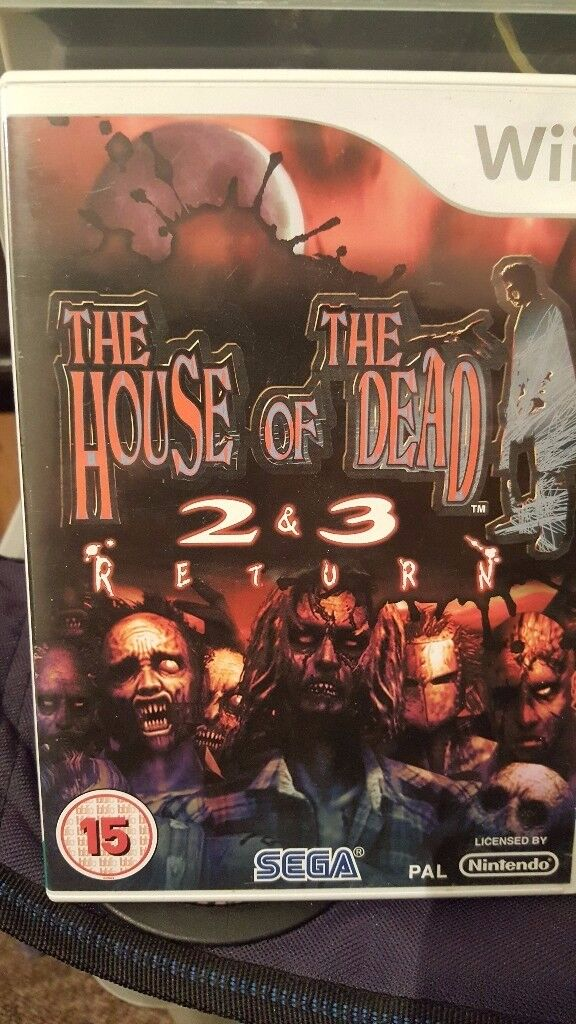 The House Of The Dead 2&3 Return- For Nintendo Wii