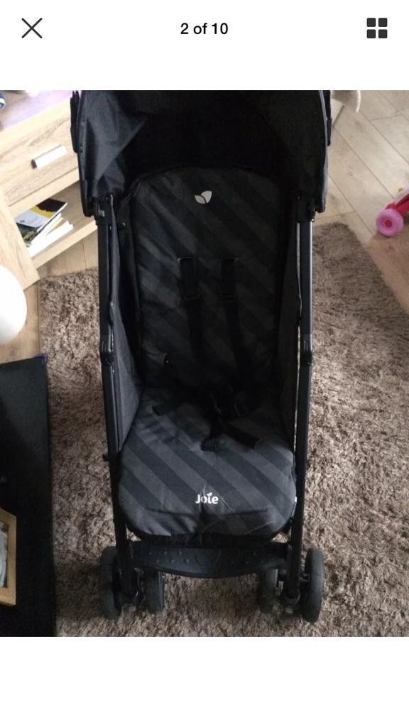 Joie nitro pushchair/stroller with cosytoes and rain cover