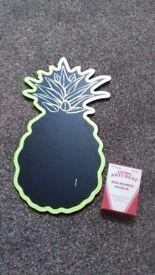 New Avon pineapple chalk board