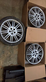 "Jaguar Triton 18"" Alloy Wheels from S-Type (x3)"